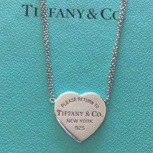 Tiffany & Co. Sterling Silver 925 Neckace